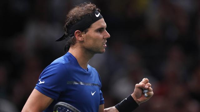 Rafa Nadal vs David Goffin: ¿A qué hora y dónde ver? ATP Finals 2017