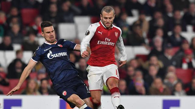 Wilshere: I'm happy with where I am