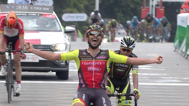 Mosca makes it another Wilier Triestina win on Stage 7