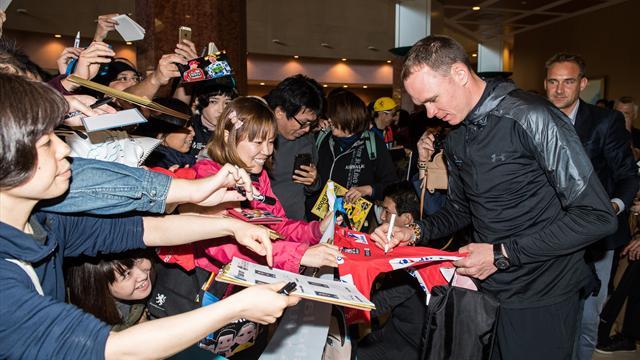 La locura y las pasiones que levanta Chris Froome entre los fans japoneses