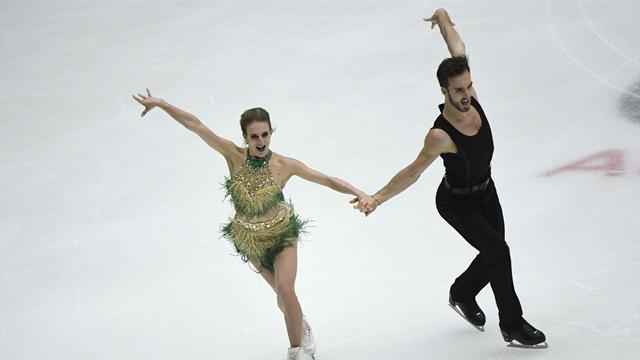 Personal best takes Papadakis and Cizeron to top spot in China