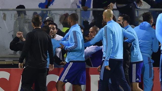 La UEFA suspende a Evra hasta el 30 de junio de 2018 y rescinde el contrato con el Marsella