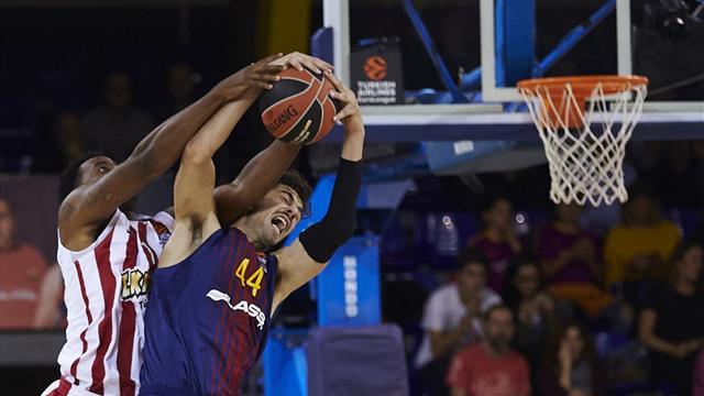 El Barcelona revive y corta la mala racha contra Olympiacos (73-51)