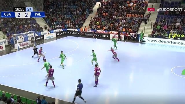 LNFS, Osasuna Magna-Palma Futsal: Así culminó Joselito la remontada visitante (2-3)