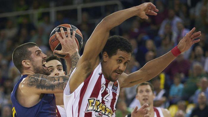 Resultado de imagen de barcelona lassa 73 Olympiacos 51