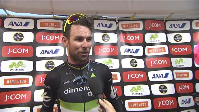 Cavendish thrilled with win in Japan