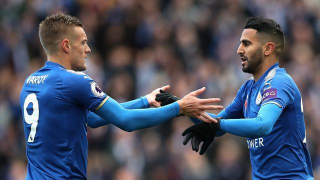 Vardy and Mahrez strike as Leicester beat Watford