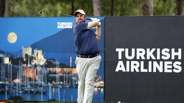 Turkish Airlines Open'da üçüncü günün galipleri Lowry ve Aphibarnrat