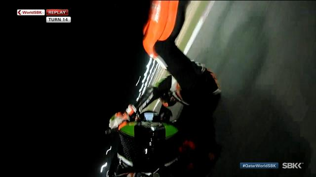 Tom Sykes slides out of contention in Qatar