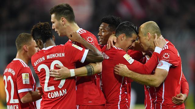 Le Bayern enfonce Dortmund façon rouleau compresseur