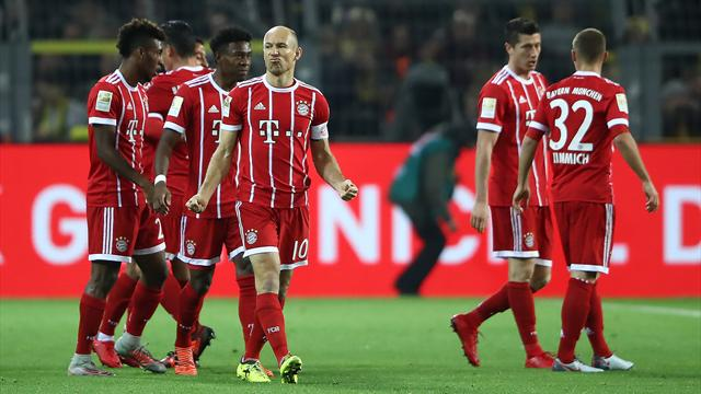 Bayern dominate Dortmund to ease to Klassiker win