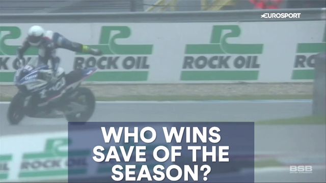 Has Chaz Davies just won Save of the Season?