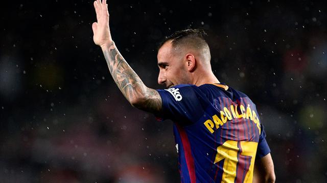 LaLiga, Barcelona-Sevilla: Paco Alcácer, en el lugar y el momento oportunos (2-1)