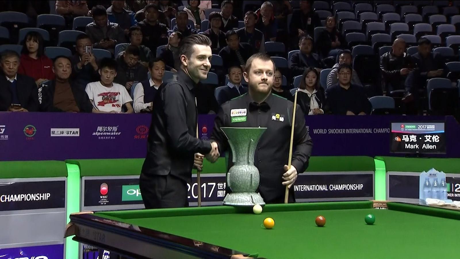 Snooker: calendar of the season 2017-2018 74