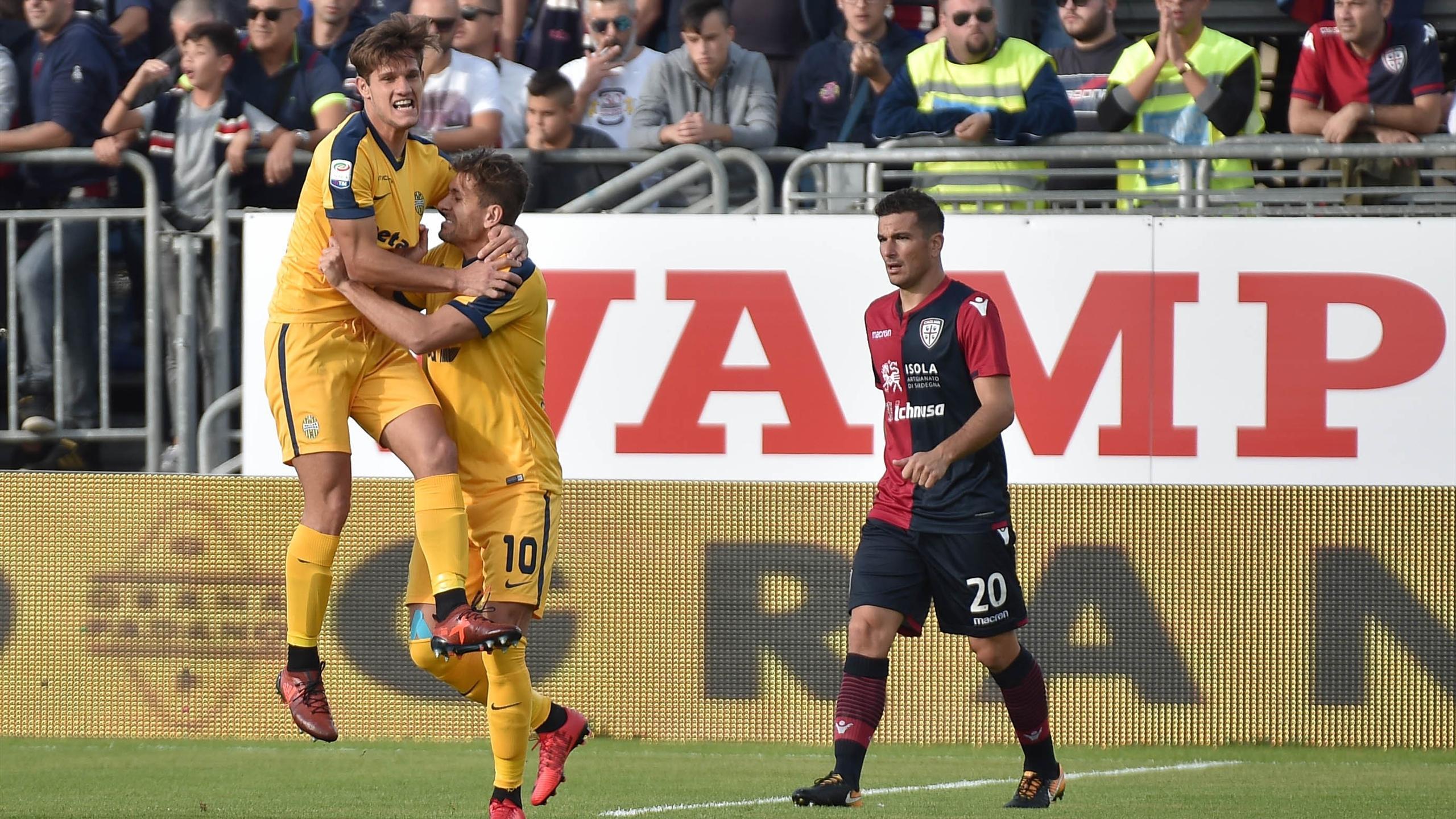 Le pagelle di Cagliari-Hellas Verona 2-1 - Serie A 2017 ...