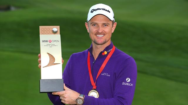 Justin Rose makes it back-to-back wins in Turkish Open shootout
