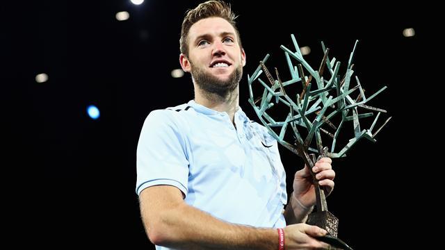 Sock snatches last ATP Tour finals spot with Paris title