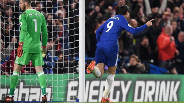 Morata da la victoria al Chelsea y complica la Premier a José Mourinho (1-0)