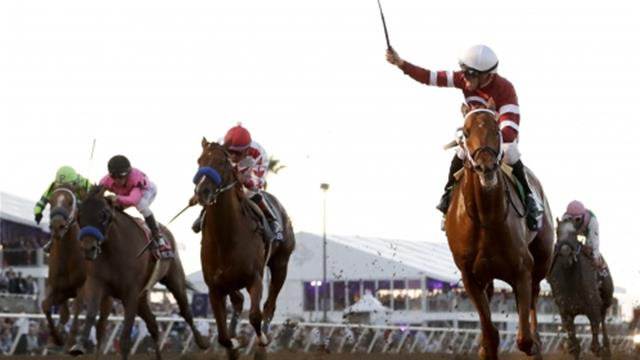 Gun Runner eases to Breeders' Cup Classic victory, Talismanic edges Longines Breeders Cup Turf