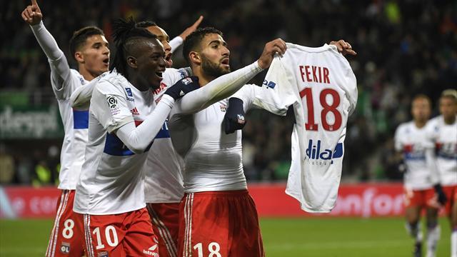 Фекир спровоцировал фанатов «Сент-Этьена» дерзким празднованием гола в стиле Месси и Роналду