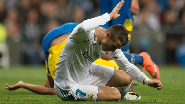 Роналду – худший игрок топ-5 лиг Европы по проценту реализованных ударов