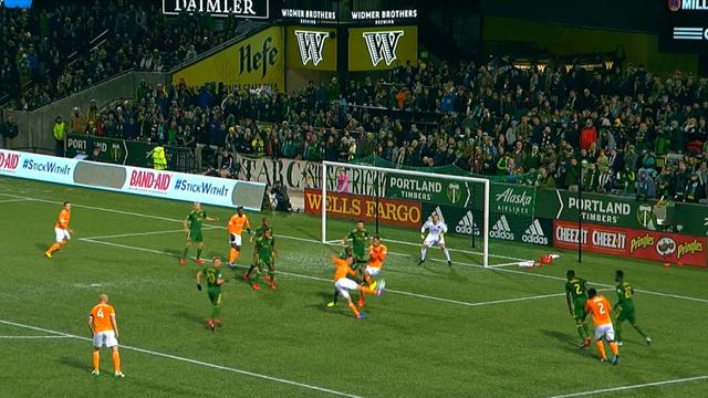 MLS: Portland Timbers - Houston Dynamo (Özet)