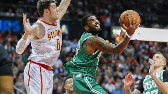 Un insaciable Irving lidera la novena victoria consecutiva de Boston