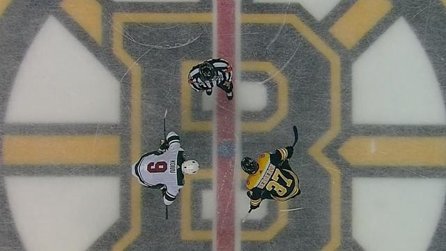«Бостон» и «Миннесота» закрутили порядочную интригу и накидали 8 шайб