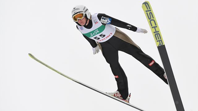 Iraschko-Stolz takes first World Cup victory of the season