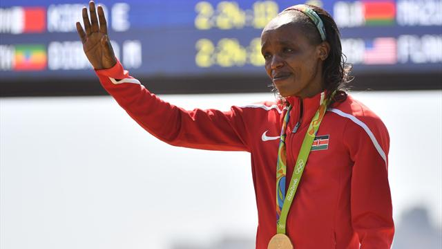 Sumgong banned for four years for doping offence