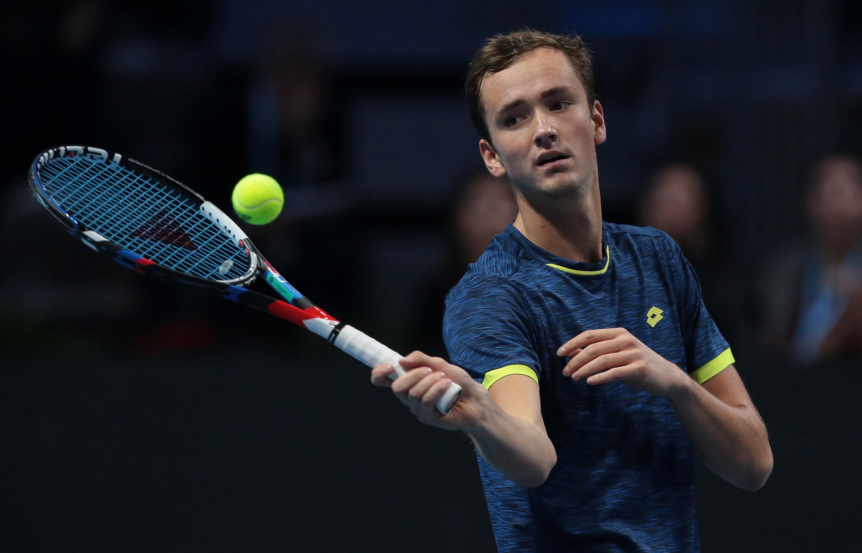 Рублев иМедведев узнали имена соперников вполуфинале Итогового турнира