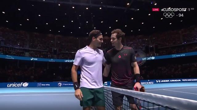 L'hommage de Federer à Murray : ''Il peut se retourner et être fier de ce qu'il a fait''