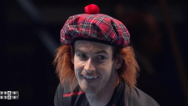 'He's really in character now!' - Andy Murray dons See You Jimmy hat