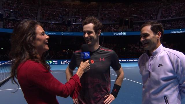 Murray: The hip felt fine but Federer deserves all his success