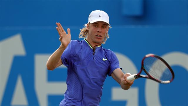 Andrey Rublev battles past Gianluigi Quinzi in NextGen ATP Finals