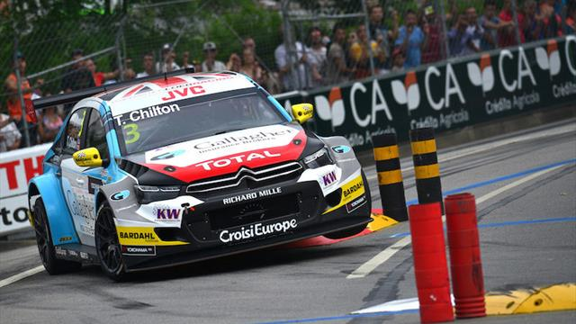 "Chilton ""itching"" for Macau WTCC podium"