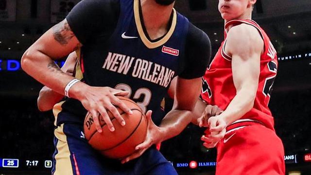 112-117. Davis y Cousins superan la barrera de los 30 puntos para Pelicans
