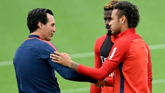 Emery : «Neymar au Real ? On essaye de nous déstabiliser»