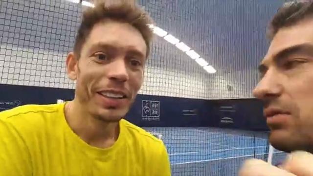 Coupe Davis, Masters, Llodra : le Live Facebook de Nicolas Mahut