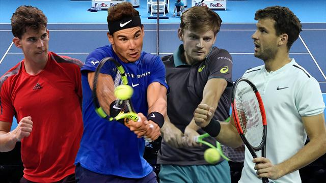 ATP Finals 2017: Thiem, Goffin y Dimitrov, primeros rivales de Nadal
