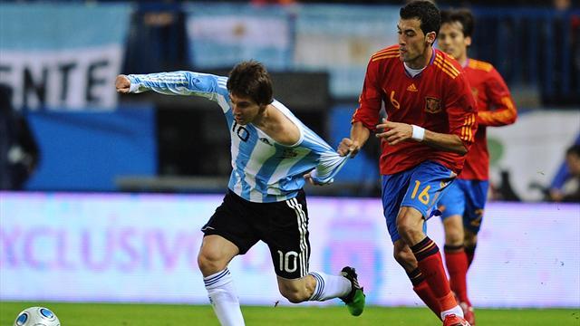 Messi no quiere enfrentar en el mundial a España