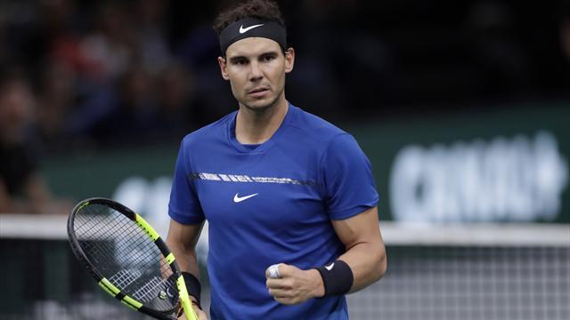 """ATP Finals 2017: Nadal, convencido: """"La rodilla está bien, si estoy aquí es para ganar el torneo"""""""