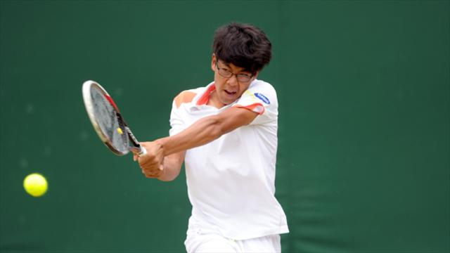 Hyeon Chung claims semi-final place at NextGen ATP Finals in Milan