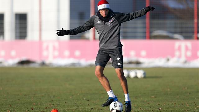 FC Bayern: Müller macht Fortschritte
