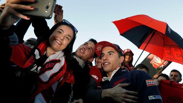 Marc Márquez gana su cuarto título mundial de MotoGP en Valencia