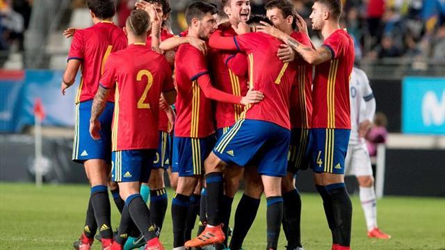 1-0. España gana por la mínima a Islandia y firma el 3 de 3