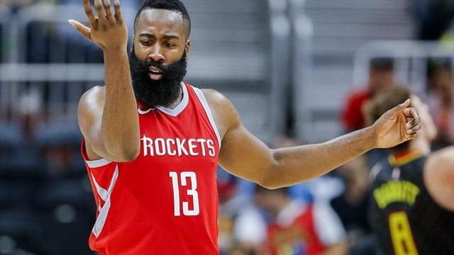 Houston Rockets sale victorioso de la trepidante batalla James Harden-LeBron James