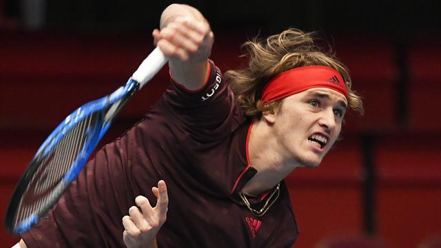 """Zverev vor richtungsweisendem Spiel: """"Jeder, der Federer schlägt, hat gute Chancen"""""""