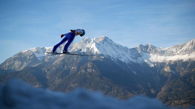 Watch the Ski Jumping season LIVE on Eurosport Player