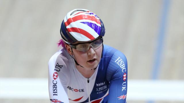 Katie Archibald third in omnium after opening two rounds
